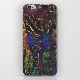 Butterfly Trance iPhone Skin