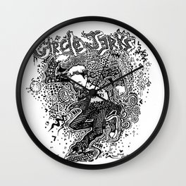 Circle Jerks Wall Clock