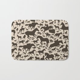 Horse a background Bath Mat