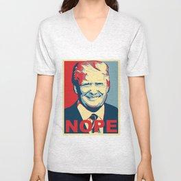 Trump Nope Unisex V-Neck
