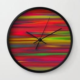 Astratto multicolore Wall Clock