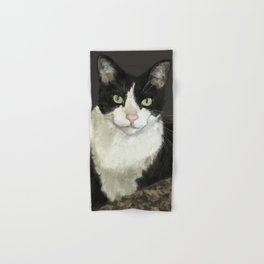 Cat Eightball Hand & Bath Towel