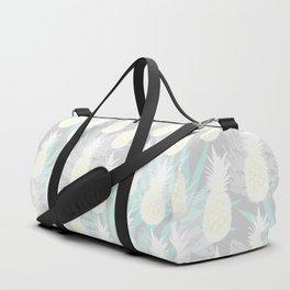 Elegant Pineapple Tropical Beach Pattern Duffle Bag