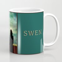 swan queen Mugs featuring Swan Queen - Emma & Regina set sail by Two Swen Idiots