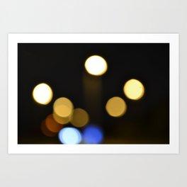 Blur (2) Art Print