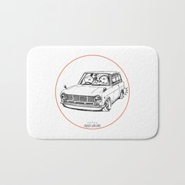 Crazy Car Art 0198 Bath Mat
