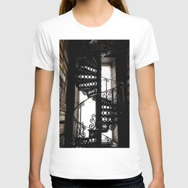 Trinity College Library Spiral Staircase T-shirt