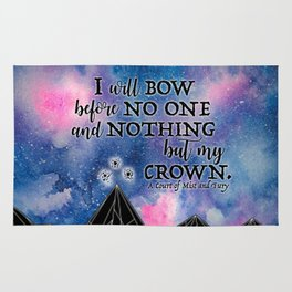 ACOMAF - Bow before no one Rug