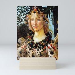 "Sandro Botticelli ""Primavera"" Flora Mini Art Print"