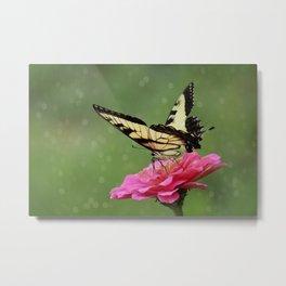 Bokehs and Butterflies Metal Print