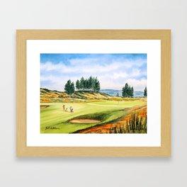 Gleneagles Kings Golf Course Scotland Framed Art Print