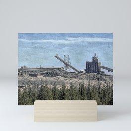 Limestone Quarry Mini Art Print