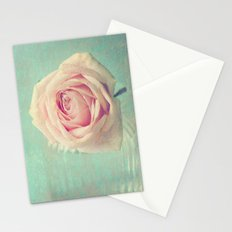 Mint Rose  Stationery Cards