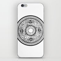 amelie iPhone & iPod Skins featuring Amelie by Gabrielle Greet