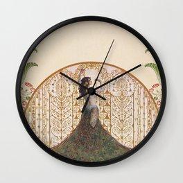 Ornate Art Deco Wall Clock