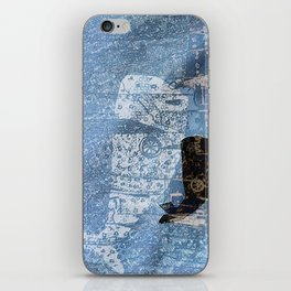whale and spirit iPhone Skin