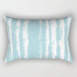 Shibori Stripe Seafoam Rectangular Pillow