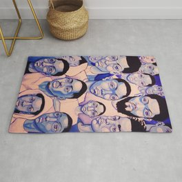 Black Boy Blues Rug