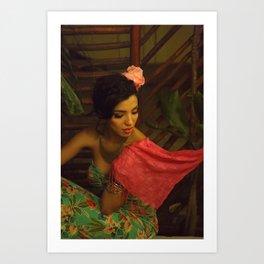 Paulina Mexico Art Print