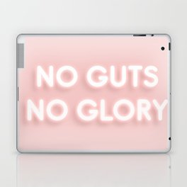 No Guts No Glory / Neon Lights Laptop & iPad Skin