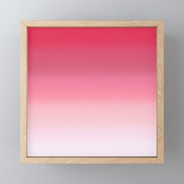 Lychee Gradient Framed Mini Art Print