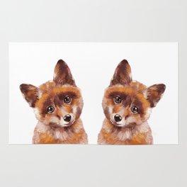 Baby Fox Rug