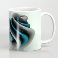 shell Mugs featuring Shell by CharismArt