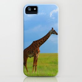Lone giraffe iPhone Case