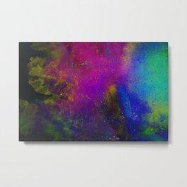 Spray Paint Metal Print