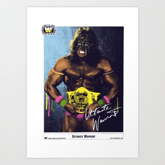 The Ultimate Warrior by hyperhyper