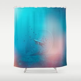 Intervention 47 Shower Curtain