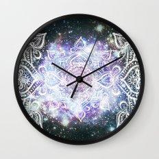 Celestial Mandala Wall Clock