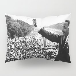 Martin Luther King March On Washington Speech Pillow Sham