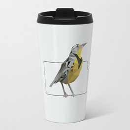 Kansas – Western Meadowlark [Fly Home: State Bird Collection] Travel Mug