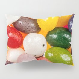Cool colorful sweet Easter Jelly Beans Candy Pillow Sham