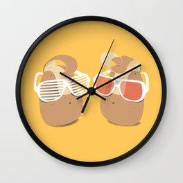 Cool Potatoes Wall Clock