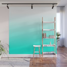 Mint Ombre Wall Mural