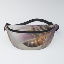 Worker Bee on Mexican Sage Fanny Pack