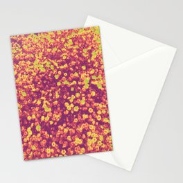 CAMIAB ~ flowers in your head/peach Stationery Cards