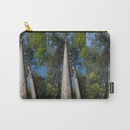 Tall Pine Trees in Mt. Lemmon Carry-All Pouch