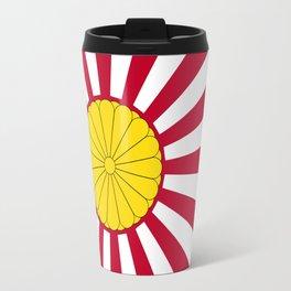 Japanese Flag And Inperial Seal Travel Mug