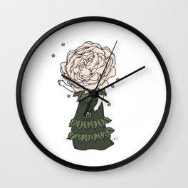 Rose Child Wall Clock