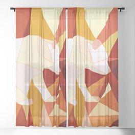 Polar Bear 8 Sheer Curtain