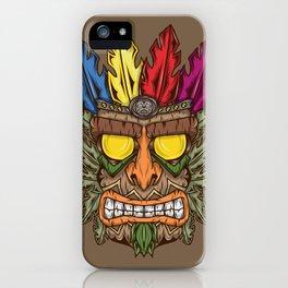Tiki iPhone Case