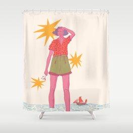 horizonte Shower Curtain