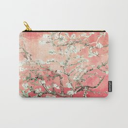 Van Gogh Almond Blossoms : Peach Carry-All Pouch