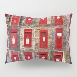 Postboxes of Old England Pillow Sham