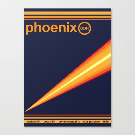 phoenix single hop Canvas Print