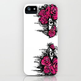 If I Could hide your eyes  iPhone Case