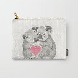Koalas love hugs Carry-All Pouch